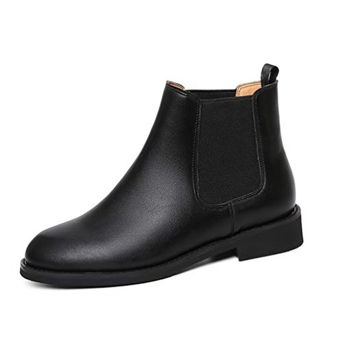 üsch Booties Schuhe Herbst Winter Slip-on Mikrofaser Ankle Boots High Top Chelsea Stiefel ()