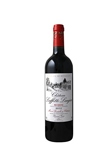 CHATEAU LAFFITTE LAUJAC - Grand Vin Rouge Bordeaux - Cru Bourgeois in 1932- AOP Médoc 2012