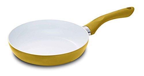 Alpfa 852104 Pfanne 28 cm aus Aluminium in Gold, Aluminium, 28 x 35 x 10 cm