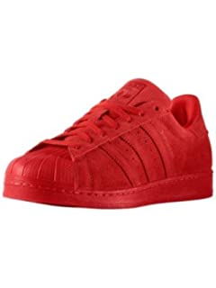superstar adidas rosse