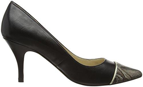Lotus Leilani, Escarpins femme Noir - Black (Blk Leather)