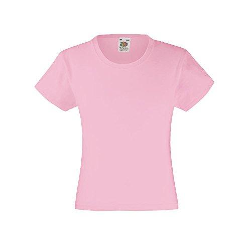 T-Shirt \'Girls Value Weight T\', Farbe:Light Pink;Größe:140 cm 140cm,Light Pink