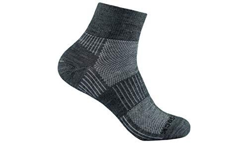 Merino Wolle Quarter Socken (Wrightsock Merino Coolmesh II Quarter Socke Füßlinge Sportsocken)