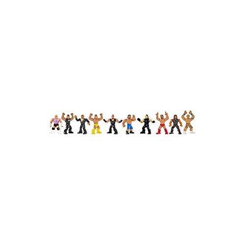 Mattel DJH85 WWE Mini-Figuren Blindpack, je 1 Figur, zufällige Auswahl