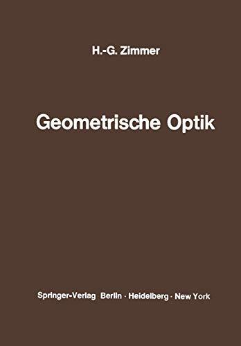 Geometrische Optik (German Edition)