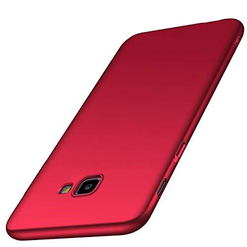 AOBOK Samsung Galaxy J4 Plus Case, Ultra Thin Sleek Matte Finish Cover Hard Shell Case for Samsung Galaxy J4 Plus Smartphone (Red)
