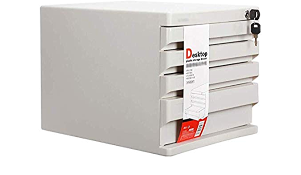 26.5X36X25.5CM Office Supplies Color : A1 File cabinet File Cabinet Landslide Track Drawer Small White Label Various Storage File Cabinet Pp Plastic