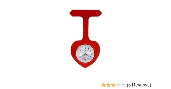 FunkyFobz Nurse Heart Silicone Fob Watch Red  Amazon.co.uk  Sports    Outdoors 242a0e9e0fd10