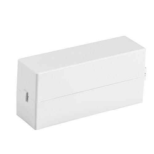Nagelbohrer 30 Löcher Schleifkopf Bit Display Aufbewahrungsbox mit weißem Rack Maniküre-Werkzeug