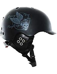 03a58abb545 YWLG Skiing Helmet PC + EPS Ultralight Ski Helmet Deportes Extremos  Snowboard Skateboard Casco Hombres
