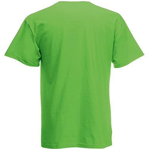 Fruit of the Loom Herren T-Shirt Original T 61-082-0 Lime L -