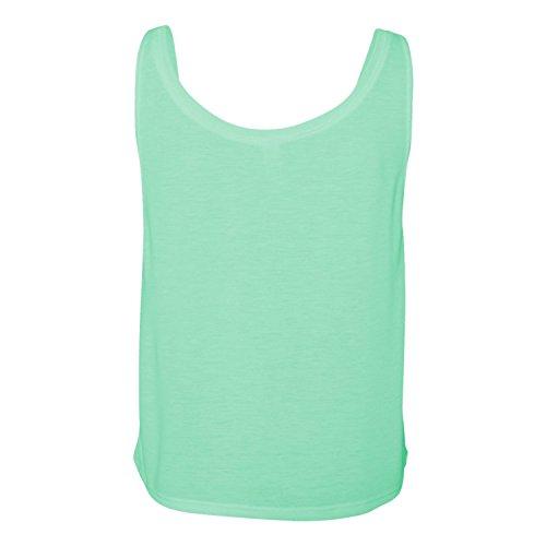 Bella Boxy Tank Top–Athletic Heather/White, Athletic Heather/White, M Athletic Heather/White