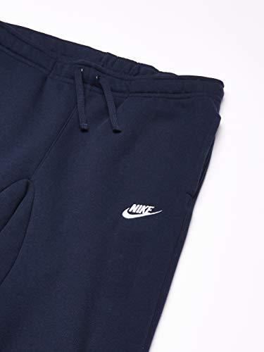 Nike Men's M NSW CLUB JGGR BB Pants, Obsidian/White, L Img 1 Zoom