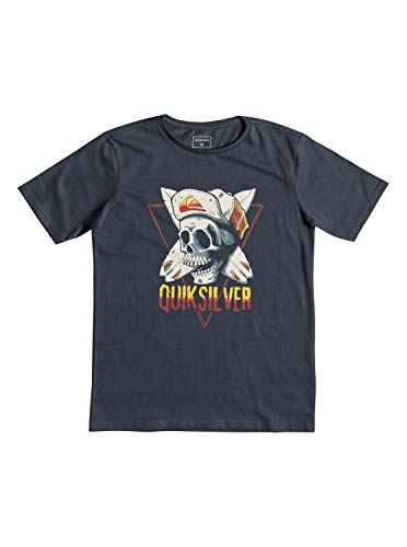 Quiksilver Soul Arch - T-Shirt for Boys 8-16 - T-Shirt - Jungen 8-16 - Blau