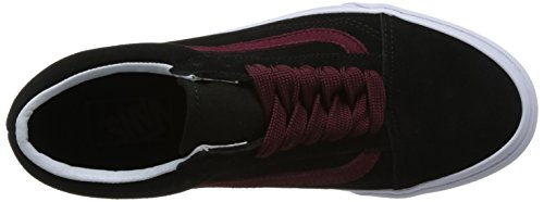 Vans Old Skool, Chaussures de Running Mixte Adulte Noir (Oversized Lace)