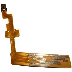 Pièces de Rechange pour Canon EF-S 18-55mm F3.5-5.6 is 18-55 II Câble de Brosse électrique pour Mise au Point/Objectif lentille La deuxième génération II (Couleur: Jaune)