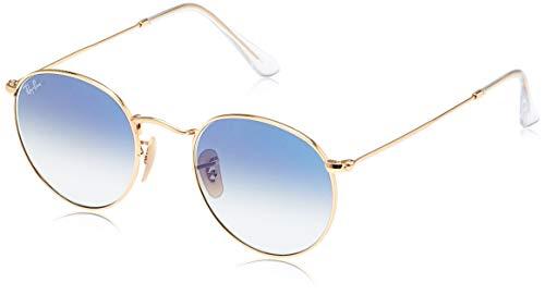 Ray-ban rb3447n-001/3f-50 occhiali da sole, oro (dorado), 50 unisex-adulto