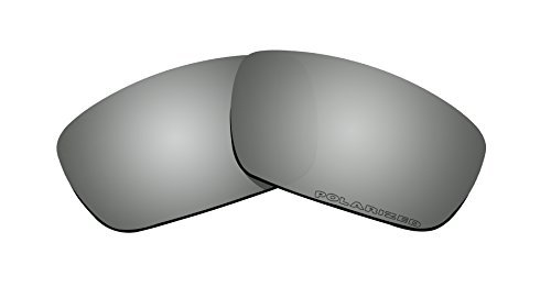 Sunglasses Polarized Lenses Replacement for Oakley Crankshaft (OO9239) Sunglasses Black Iridium Mirror Coatings by BVANQ