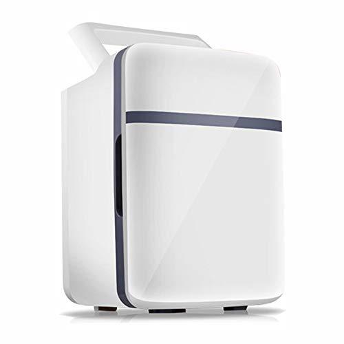 CZJD Refrigerador de Autos Mini refrigerador silenciosoDoble función enfría y calienta refrigerador...