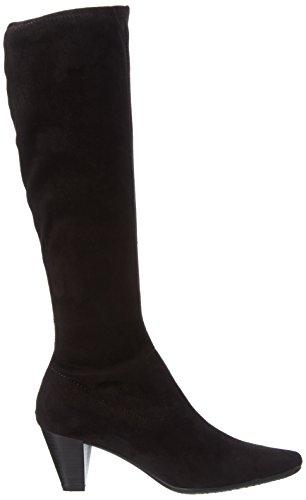 Marco Tozzi 25556, Bottes Haute Femme Noir (BLACK 001)