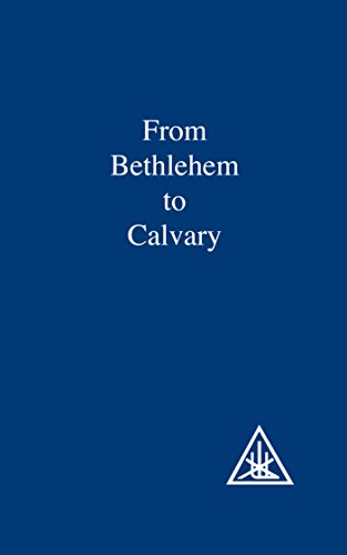 From Bethlehem to Calvary: Initiations of Jesus