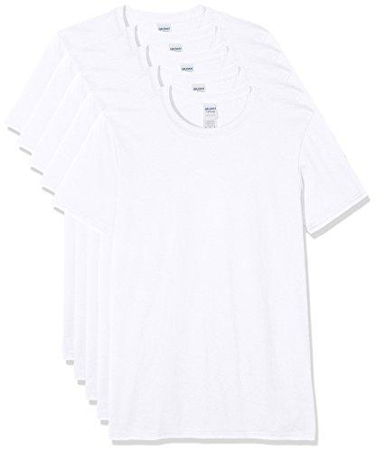 GILDAN Men's T-Shirt Pack of 5
