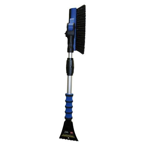 Petex-4602-46020000-Spazzola-per-neveghiaccio-beccuccio-in-gomma-e-manico-telescopico-90-gradi