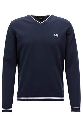 BOSS Pullover Sweatshirt (L, Marineblau)