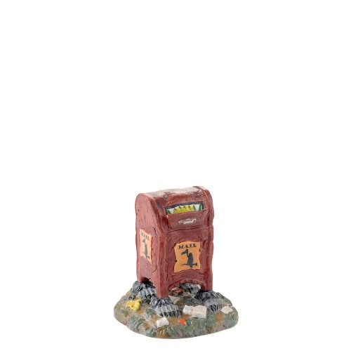 Department 56 4025399 Halloween Accessories for Dept 56 Village Collections Haunted Delivery Village Accessory, 3.15-Inch by Department 56