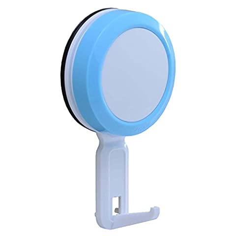 Easy & Eco Life Suction Cup Hook Towel Hanger Kitchen Bathroom Shower (Blue)