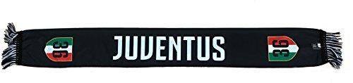 Juventus f.c. - perseo trade s.r.l. sciarpa juventus 36 campioni d'italia 2017-2018 poliestere prodotto ufficiale