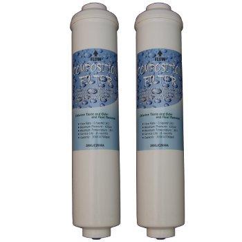 Original Wasserfilterpatrone von LG 5231JA2010B, 2 Stck