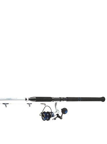 Kinetic Angelrute mit Angelrolle Zexus Combo 8\' 40-160G schwarz/weiß/blau