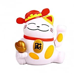 Solar Robes Lucky Cat For Wealth Beautify Decoration Toy