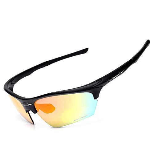 ANSKT Männer und Frauen professionelle Fahrradsonnenbrille leichte Fahrradsportbrille UV400 Material: tr3