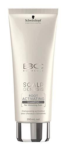 Schwarzkopf BC Bonacure Scalp Genesis Root Activating Shampoo Aktivierendes Shampoo für dünner-werdendes Haar, 1er Pack (1 x 200 ml) -