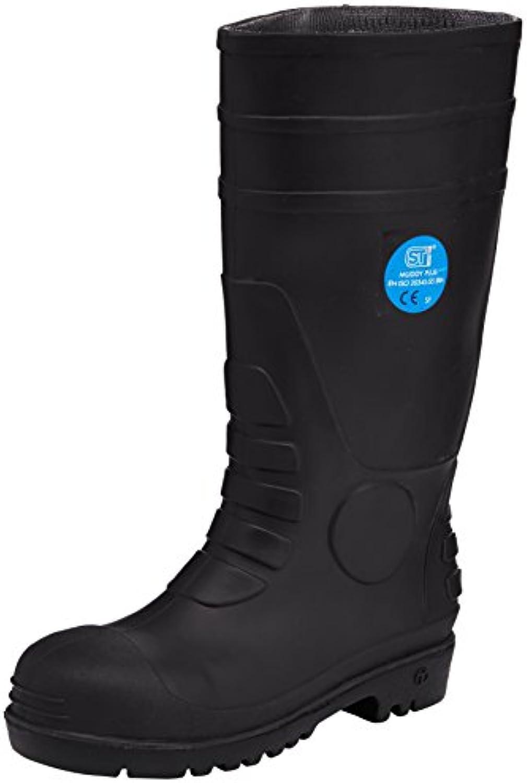 ST Workwear Muddy Plus - Calzado de Protección de Goma para Hombre