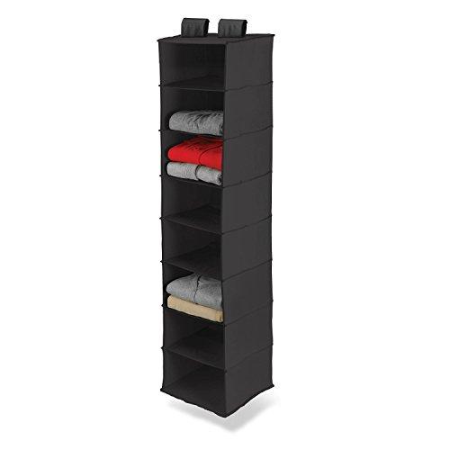 honey-can-do-8-shelf-polyester-hanging-organizer-black