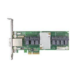 Intel RAID Expander RES3FV288 28 Internal and 8 External Port SAS/SATA 12Gb Expander Card - Upgrade-Karte für Speicher-Controller - Intel Sata Raid