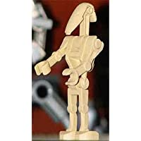 LEGO Star Wars: Battle Droid (Straight Arm and Vertical Grip) Minifigure