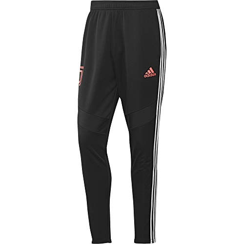 adidas Herren JUVE TR PNT Sport Trousers, Black/White, M