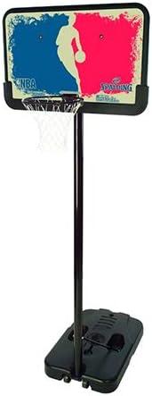 Spalding 44 Inch NBA Logoman Basketball System