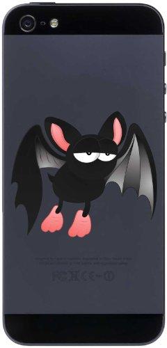 Handy-Aufkleber - Fledermaus 02 - bat - handy skin - 50 mm Aufkleber (Vampir-halloween Sie Suchen)