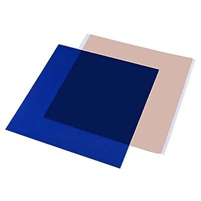 Gazechimp PEI Sheet Ideal für den Druck ABS / PLA Sheet Installiert sofort Werkzeuge für 3D-Drucker