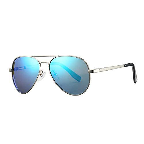 Yangjing-hl Brand Small Polarized Sonnenbrillen für Kinder und Jugendliche Erwachsene Small Face Men Junioren Pilot Sun Glasse 52mm PA1053