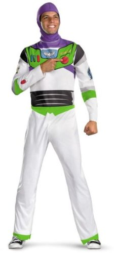 Disguise 188022 Disney Toy Story - Buzz Lightyear Kost-m - Wei- - X-Large - (Kostüm Up In Smoke)
