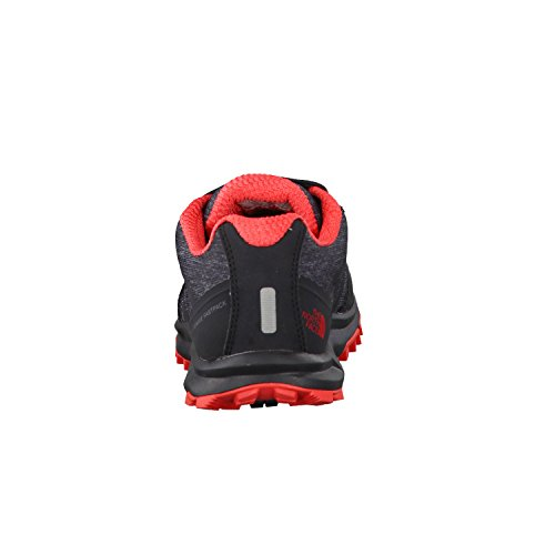 The North Face Litewave Fastpack Gore-Tex, Chaussures de Randonnée Basses Femme Gris (Phantom Grey/cayenne Red)