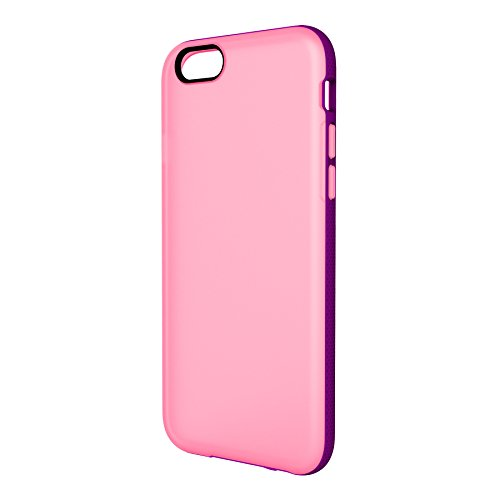 Belkin - Etui Grip Candy en TPU pour iPhone 6/6S - Bleu transparent Rose