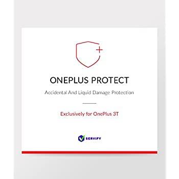 OnePlus Protect – 1 Year Accident & Damage Protection Plan for OnePlus 3T  64 GB