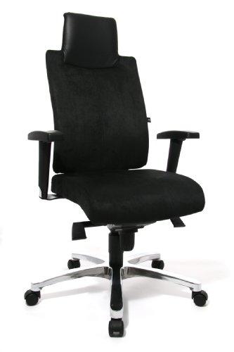 Topstar SC69TTA0 Chefsessel Sitness Chief 100 inklusive Armlehnen, Bezug schwarz - 2